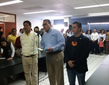"""Se registran candidatos de """"Por México al Frente"""" ante el INE"""