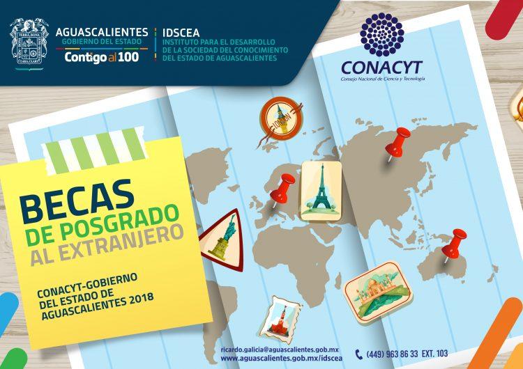 Abren convocatoria Sedec-Conacyt para posgrado en el extranjero