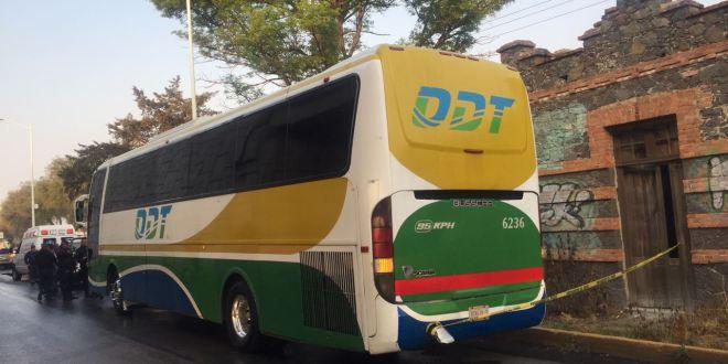 Seis atracos en autobuses de Hidalgo en dos meses