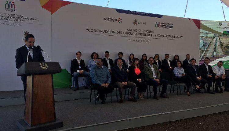 Destinarán 635 millones de pesos para la construcción del Circuito Industrial y Comercial del Sur