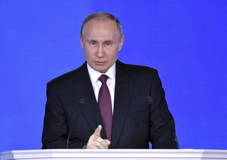 Un misil nuclear de Rusia está dirigido hacia una ciudad de EE.UU., de acuerdo con un video de Putin