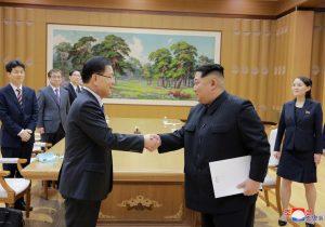 Corea del Norte promete no usar armas nucleares contra el sur
