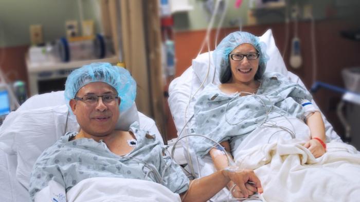 """Un riñón, el """"regalo"""" que un hombre dio a su esposa por su aniversario 23"""