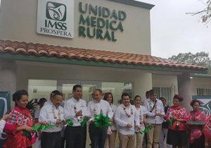 Inaugura IMSS infraestructura médica en SLP por 33 millones de pesos