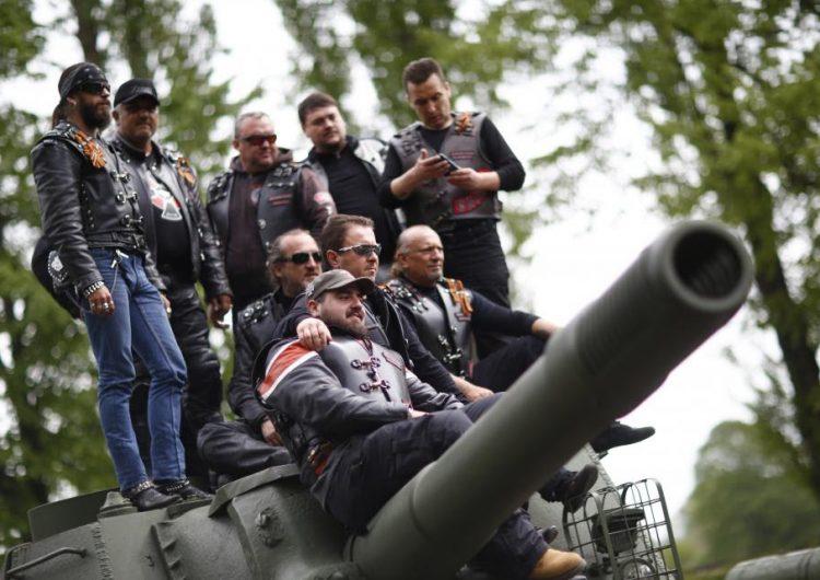 ¿La pandilla de motociclistas de Putin viaja por Europa para iniciar un conflicto separatista?