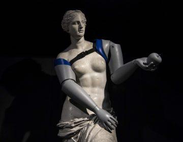 Una campaña para alertar sobre la necesidad de prótesis le 'pone' brazos a la Venus de Milo