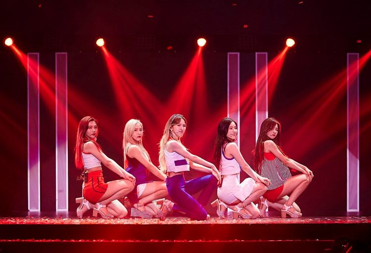 corea kim jong un concierto k-pop Red Velvet