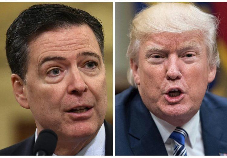 """Trump está """"moralmente incapacitado"""" para gobernar, dice Comey; el mandatario responde y lo llama """"canalla"""""""