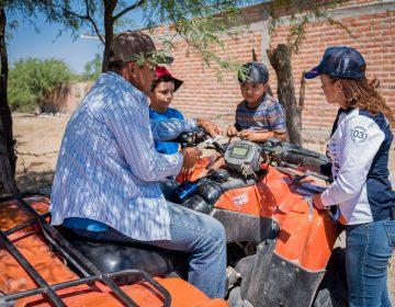 Se suma sector rural a campaña de Martha González