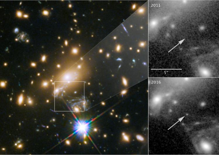 Así es como los astrónomos descubrieron la estrella más lejana jamás vista