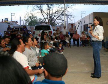 Promete Lorena Martínez recursos federales para Tepezalá