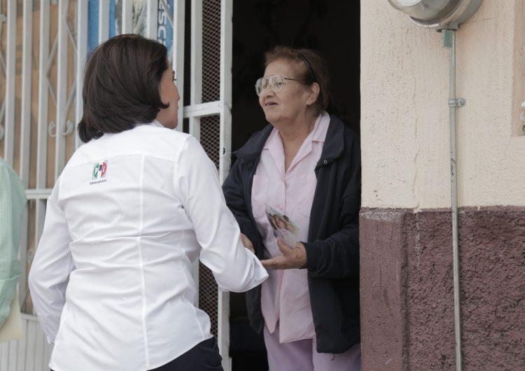Impulsaría candidata del PRI obligatoriedad de estancias para adultos mayores