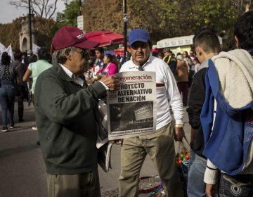 Van militantes de Morena contra el partido en Tribunal
