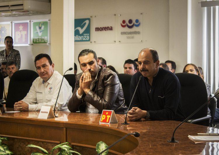 Traba coalición de Morena su inicio de campaña