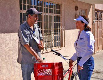 Presenta Lorena Martínez propuestas a vecinos de la Soledad, Colinas del Río, Altavista y Fundadores