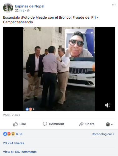 ¿Se reunieron El Bronco y José Antonio Meade? Sí, pero en 2015
