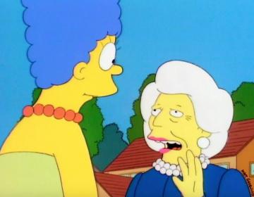 La carta de disculpa que Barbara Bush le escribió una vez a Marge Simpson