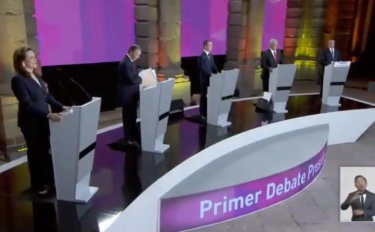 ¿Verdades o mentiras? Esto dijeron los candidatos sobre seguridad y violencia en el primer debate