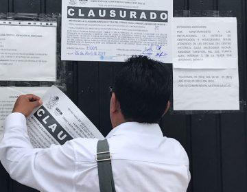 Clausura gobierno de Oaxaca sede del Consejo Regulador del Mezcal; posponen elección