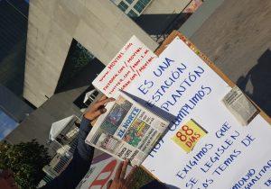 Levantan #PlantónPorLaIgualdad en NL; lamentan que congresistas solo discutirán unión civil
