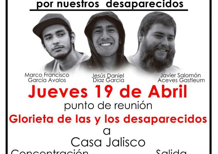 Universitarios alistan marcha tras un mes de desaparición de estudiantes; Gobernador no quitará a Fiscal General