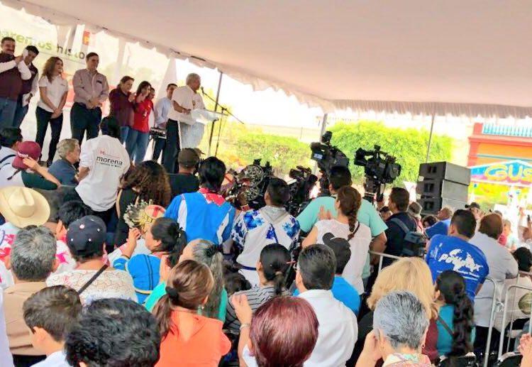 """""""El Bronco"""" en la boleta es decisión de la mafia del poder integrada por Salinas, Fox y Calderón: AMLO"""