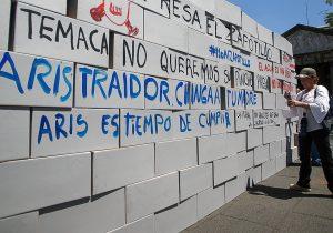 """El Zapotillo, """"monumento a la hidromafia"""", acusan pobladores"""