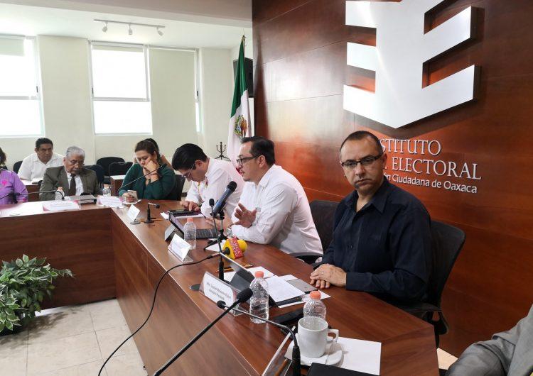 """Rechazan órganos electorales que Oaxaca sea """"foco rojo"""""""