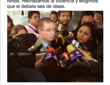 Ricardo Anaya aprobó las reformas de Peña Nieto y ahora las critica