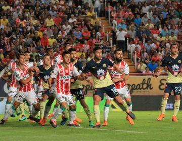 Rescata Necaxa empate frente a América, pero complica Liguilla