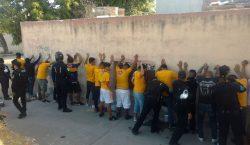Detienen a 40 aficionados en operativo de seguridad del Necaxa…