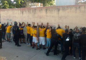 Detienen a 40 aficionados en operativo de seguridad del Necaxa vs Tigres
