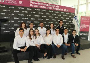 AMLO acepta debate con estudiantes del Tec de Monterrey en NL
