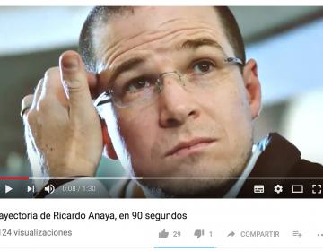 """Primera parte: ¿Cierto o falso? Estos son los datos del video """"Ricardo Anaya, en 90 segundos"""""""
