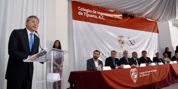 Inicia nuevo Consejo del Colegio de Ingenieros