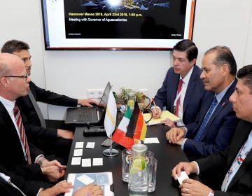 Avanzan planes de inversión alemana en Aguascalientes: Gobierno