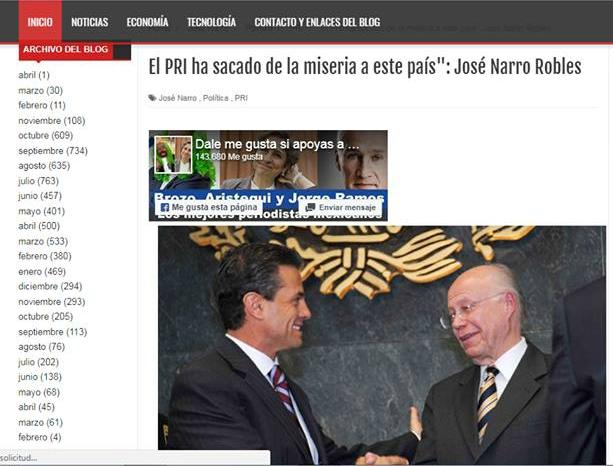 José Narro no dijo que el PRI logró sacar de la miseria al país