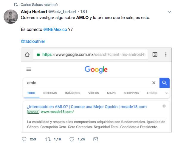 #EstoSíPasó Todas las búsquedas conducen a Meade. ¿Cómo lo hizo?