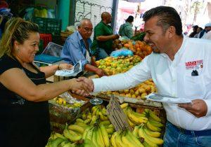 Plantea candidato de Morena promoción de consumo local desde Cámara Baja