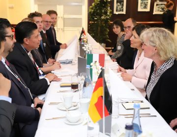 Visitará delación alemana a Aguascalientes: Gobierno