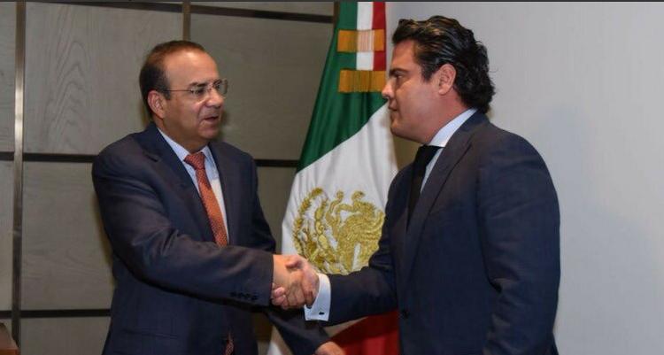 """""""Error"""" de Marina provoca reunión entre Aristóteles Sandoval y titular de Segob"""