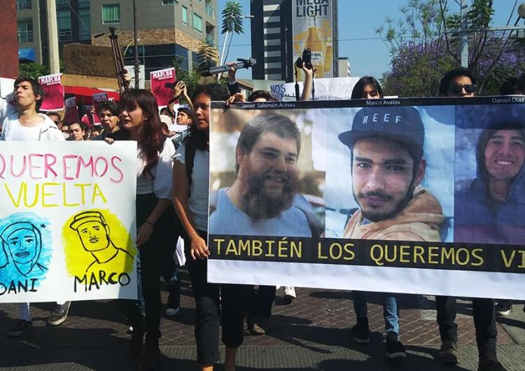 Detienen a tía de uno de los universitarios desaparecidos en Jalisco; Fiscalía local no informa avances de investigación