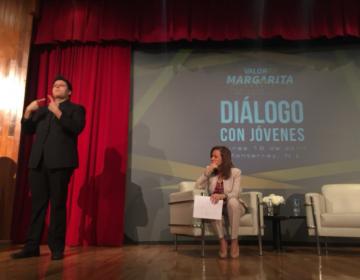 """Margarita Zavala desdeña a """"El Bronco""""; solo tengo 3 rivales, dice en NL"""