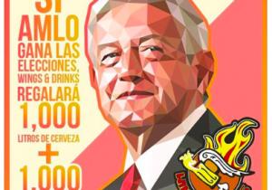 Varios locales ofrecen comida o servicios gratis si gana López Obrador, pero ¿es legal?