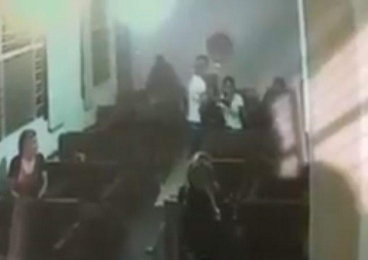 Feligreses sufren asalto en capilla de Guadalajara