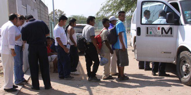 Aseguran a 77 migrantes de Centroamérica