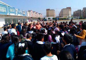 Desalojo de estudiantes en Texmelucan por fuga de combustible