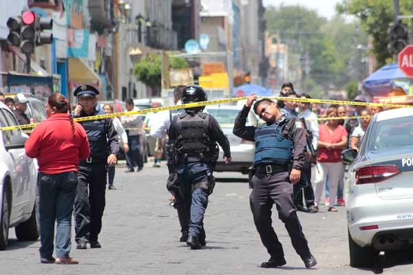 Son narcomenudistas los detenidos tras balacera en pleno centro histórico de Puebla