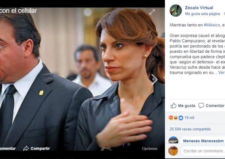 Usuarios en redes se creen un chiste sobre la posible liberación de Javier Duarte y lo hacen viral