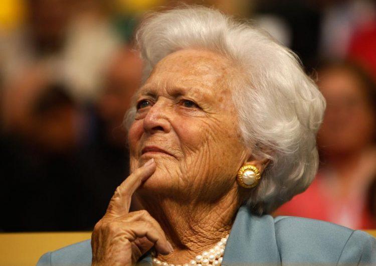Muere Barbara Bush, ex primera dama y madre de George W. Bush